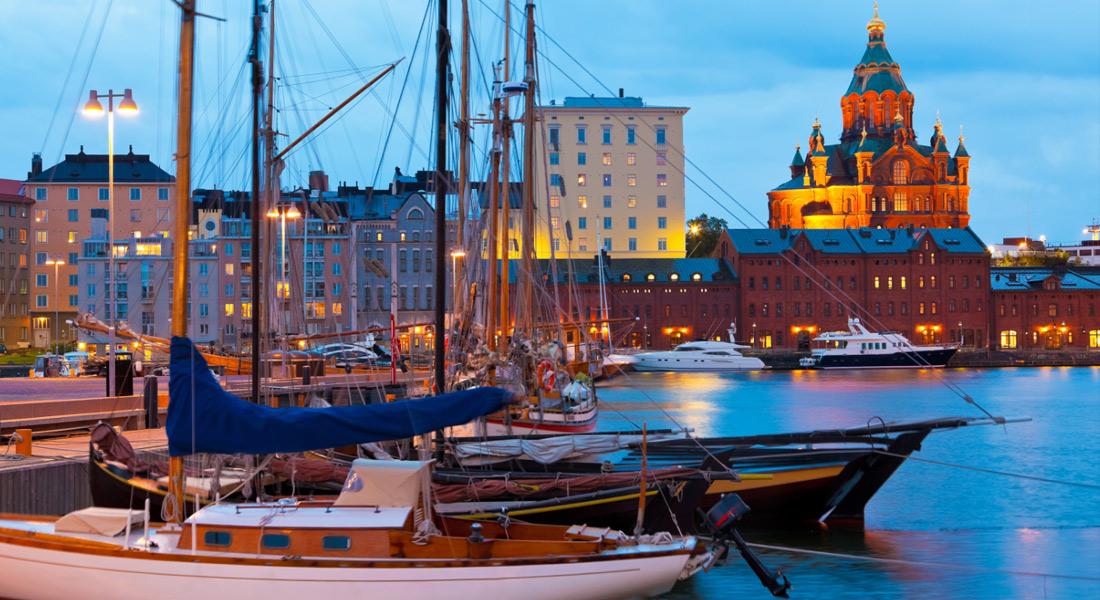 Helsinki yöaikaan